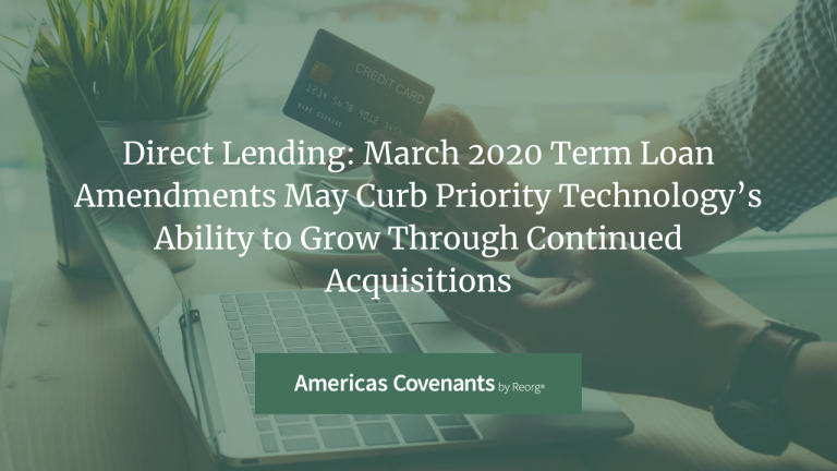 Priority Technology Holdings Term Loan Facilities Amendments