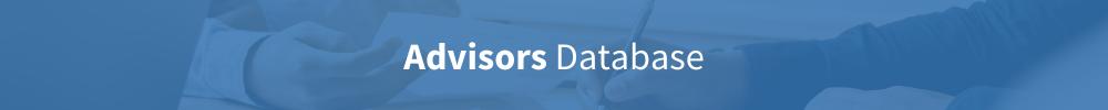 advisors database