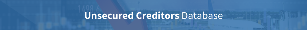 unsecured creditors database